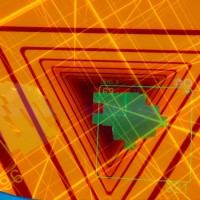 Go Future Retro in SUPERHYPERCUBE, Out October 13 on PS VR