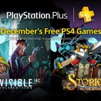 PS Plus: Free Games for December 2016